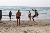 Beach Football Time