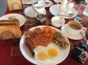 English Breakfast @ St Anthony's Tea Garden